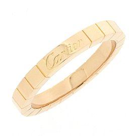 Cartier Lanieres 18K Rose Gold Ring Size 8.25