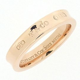 Tiffany & Co. 1837 Rubedo Metal Ring Size 5.75