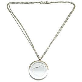Chopard 18k 18K White Gold Diamond Pendant