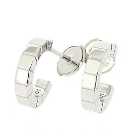 Cartier Lanieres 18K White Gold Earrings