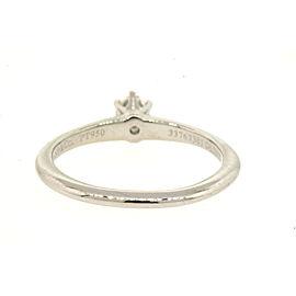 Tiffany & Co. Platinum Diamond Engagement Ring Size 7