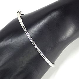 Vecchio 18K White Gold Diamond Bracelet