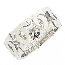 Cartier Entrelaces Ring 18K White Gold Size 5.75