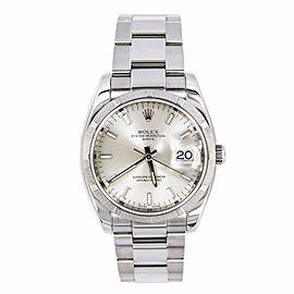 Rolex Date 115200 35mm Mens Watch