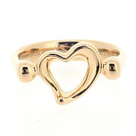 Tiffany & Co. 18K Rose Gold Ring Size 3.75