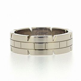 Cartier 18K White Gold Ring Size 9.75