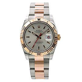 Rolex Datejust Turn-O-Graph 116261 36mm Mens Watch
