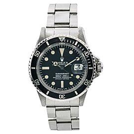 Rolex Submariner 1680 Vintage 40mm Mens Watch