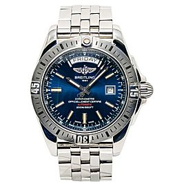 Breitling Galactic A45320 43mm Mens Watch