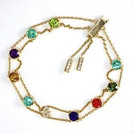 Chaumet 18K Yellow Gold Diamond Bracelet