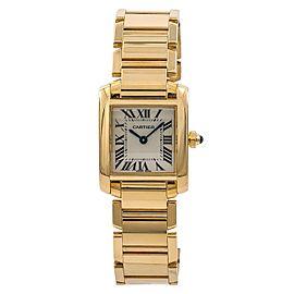 Cartier Tank Francaise 2385/W520065 20mm Womens Watch