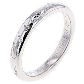 Van Cleef & Arpels Platinum Ring Size 6