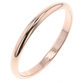 Cartier 18K Rose Gold Wedding Ring Size 9