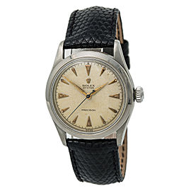 Rolex Brevet 6482 Vintage 37mm Mens Watch
