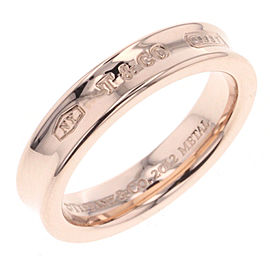 Tiffany & Co. 1837 Ruedo Metal Ring Size 4.75