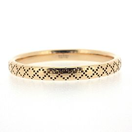 Gucci 18K Rose Gold Ring Size 8.75