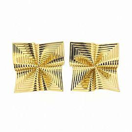 Tiffany & Co. 18K Yellow Gold Drape Earrings