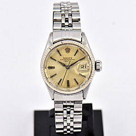 Rolex Oyster Perpetual Date 6517 25mm Womens Watch