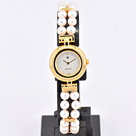 Mikimoto 4N20-0941 20mm Womens Watch