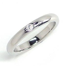 Tiffany & Co. Platinum Diamond Ring Size 5.5