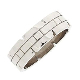 Cartier 18K White Gold Ring Size 10.25