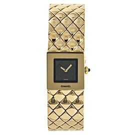 Chanel Matelasse CHA01-021115 19mm Womens Watch
