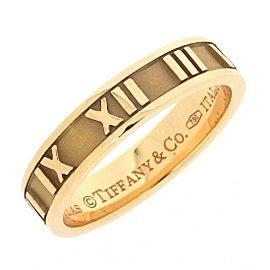 Tiffany & Co. Atlas 18K Rose Gold Ring Size 5