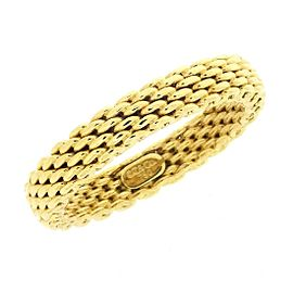 Tiffany & Co. 18K Yellow Gold Somerset Ring Size 6.25