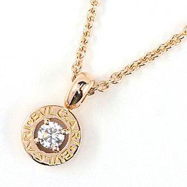 Bulgari 18K Rose Gold Diamond Necklace