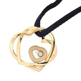 Chopard 18K Rose Gold Diamond Pendant