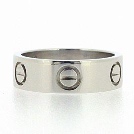 Cartier Platinum Love Ring Size 4.75