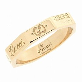 Gucci 18K Rose Gold Ring Size 4.75