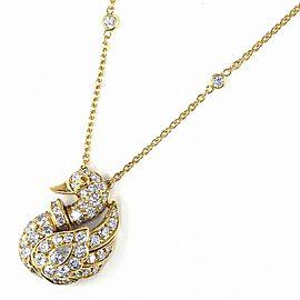 Graff 18K Yellow Gold Diamond Necklace
