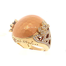 Pasquale Bruni C Est Moi 18k Gold Diamond Ring Estimated 1ct size 7