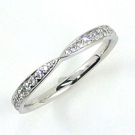 Tiffany & Co. Harmony Platinum Diamond Ring Size 6.25