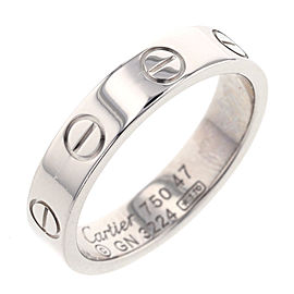 Cartier Mini Love 18k White Gold Ring