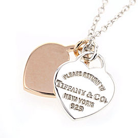 Tiffany & Co. Sterling Silver Return to Tiffany Mini Heart Tag Necklace