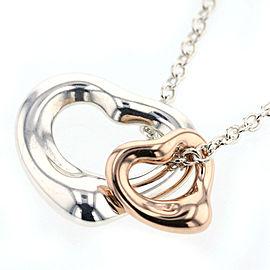 Miki 18K Rose Gold, Sterling Silver Necklace