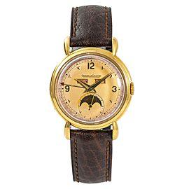 Jaeger LeCoultre 141.008.1 Vintage 33mm Mens Watch