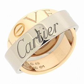 Cartier 18K Love Secret Ring Size 4.75