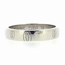 Cartier Platinum Happy Birthday Ring Size 7.5