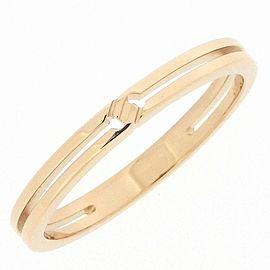 Gucci 18K RG Infinity Ring Size 5.5