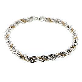 TIFFANY&Co. Combi 18K YG/SS Bracelet