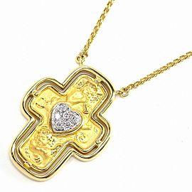 Carrera Y Carrera 18K Yellow Gold Diamond Necklace