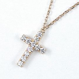 Cartier 18K Rose Gold Diamond Necklace
