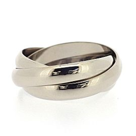 Cartier 18K White Gold Ring Size 5.75