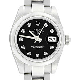 Rolex Oyster Perpetual Datejust 179160 26mm Womens Watch