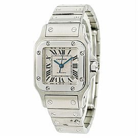 Cartier Santos Galbee W5148 24mm Womens Watch