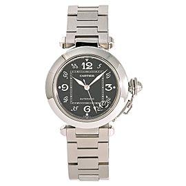 Cartier Pasha W31024M7 35mm Mens Watch