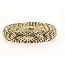 "Tiffany & Co. Somerset Mesh Bracelet 7.5"" 15mm wide"